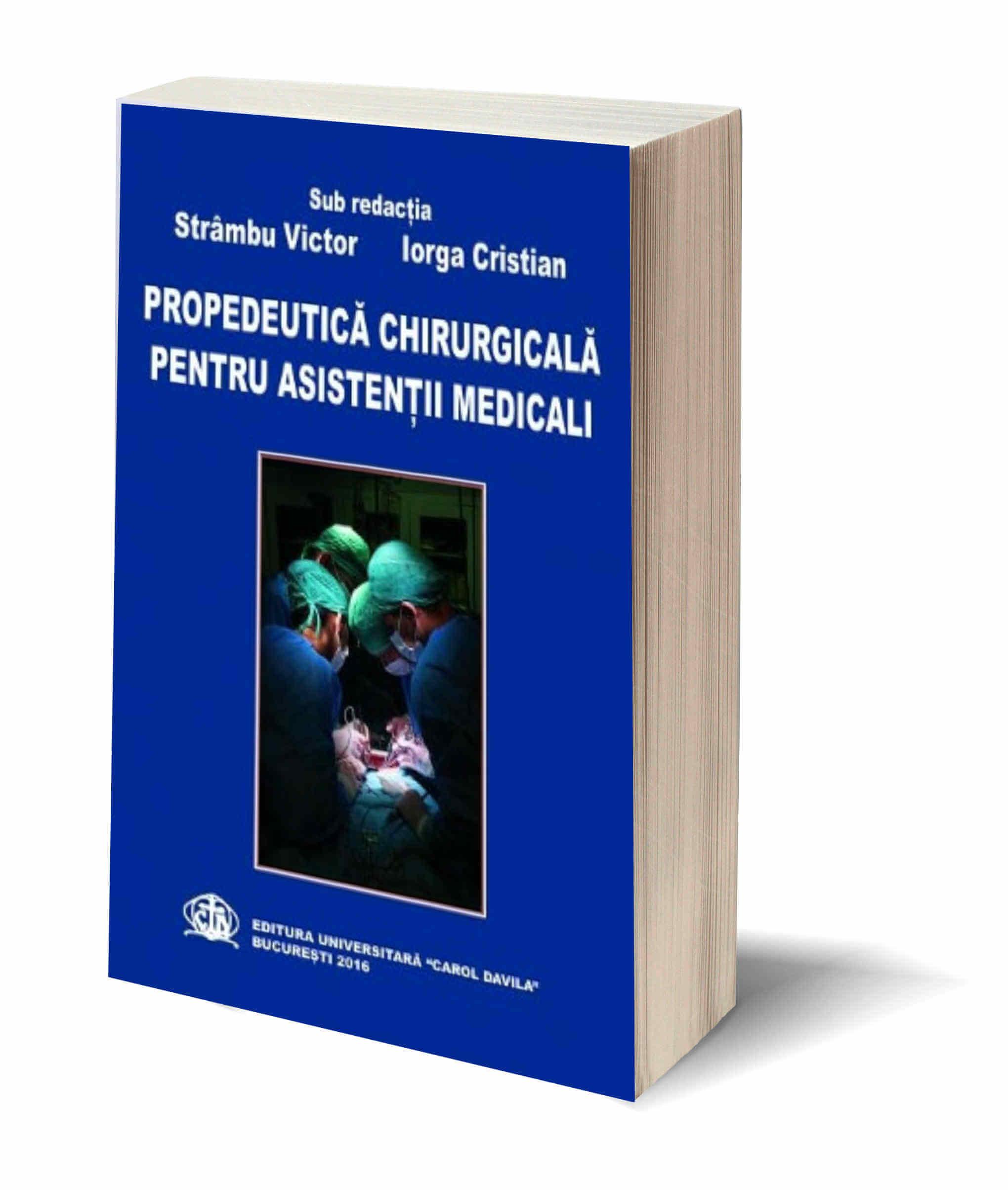Propedeutica Chirurgicala Pentru Asistenti Medicali